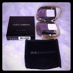 Dolce & Gabbana white and Violet purple  makeup